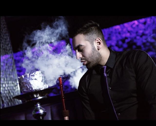 Oasis Shisha Lounge Glasgow shisha being smoked